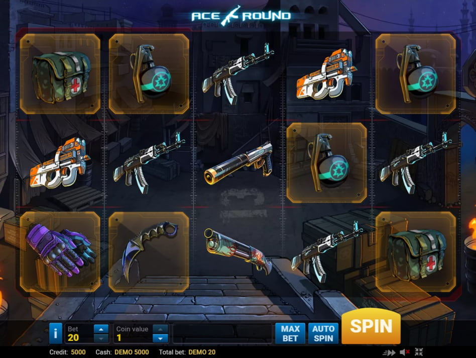 Ace round туз раунд игровой автомат