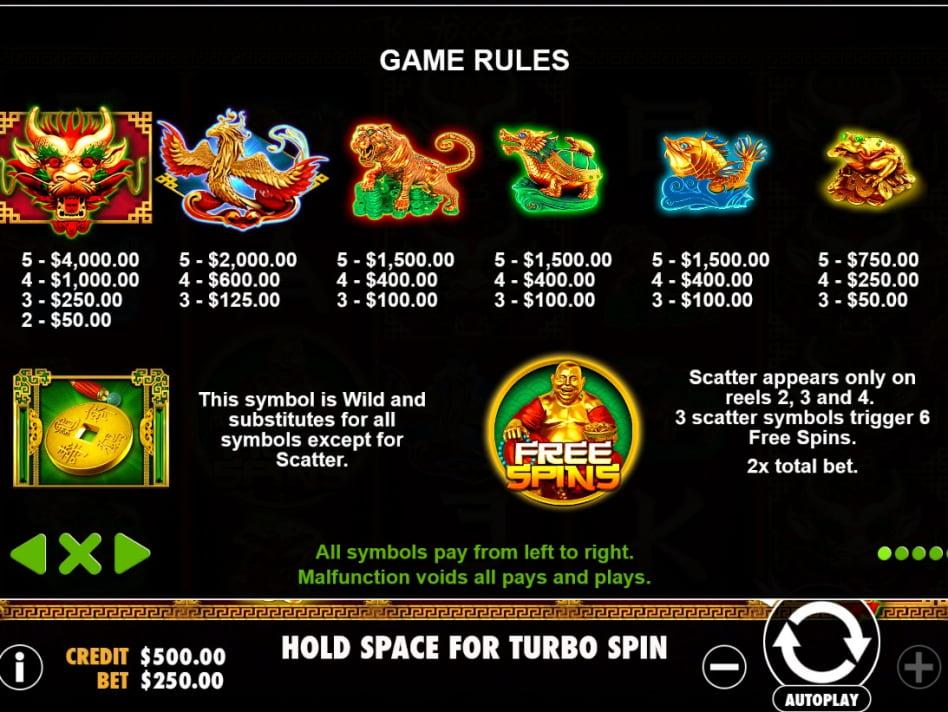 Dragons lucky удача драконов игровой автомат вероятность