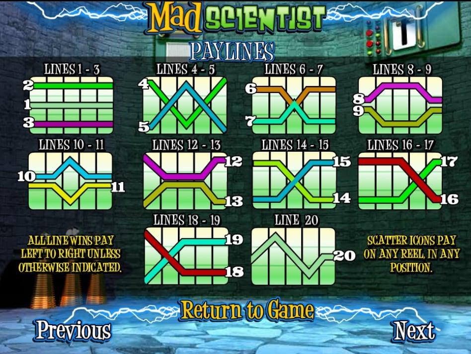 Бесплатный игровой автомат mad scientist Лиски