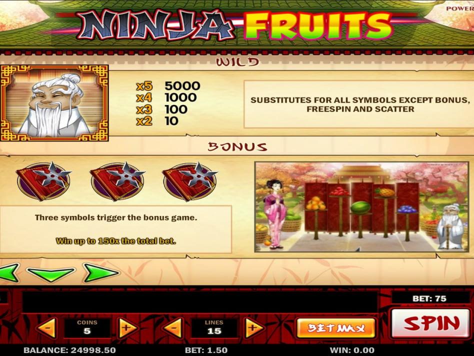 Чет ninja fruits ниндзя фрукты игровой автомат официальный сайт