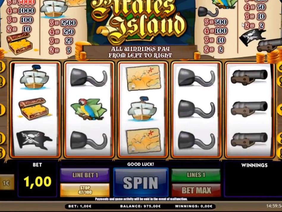 Игровой автомат pirates island ставок