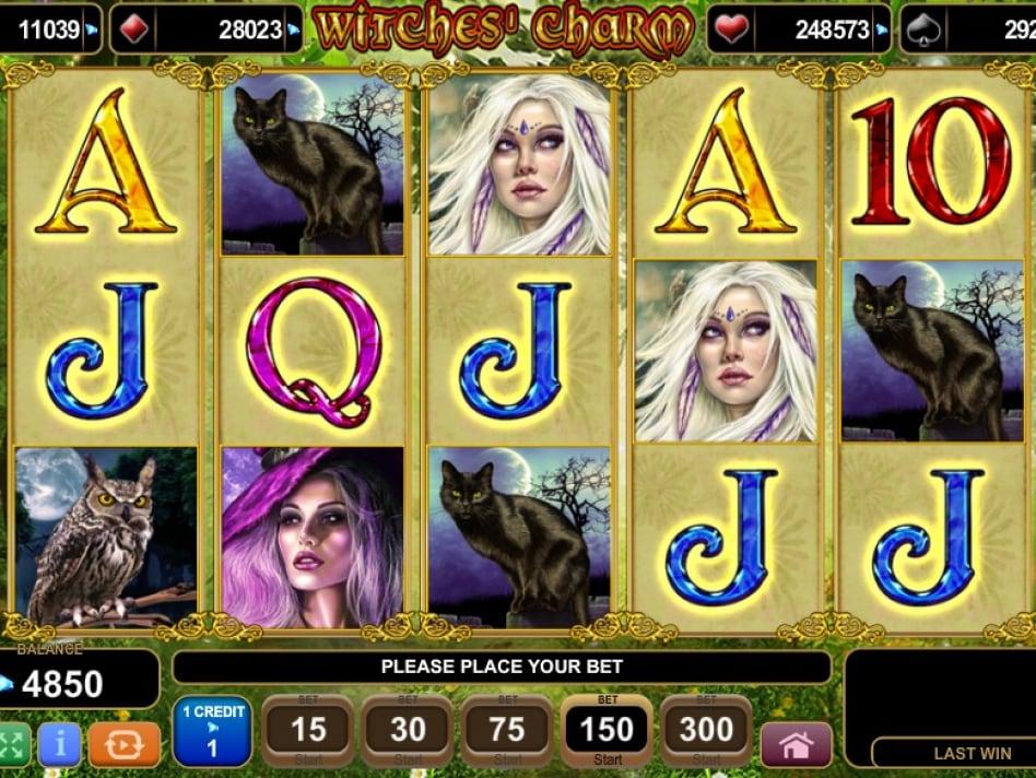 Witches charm ведьминские чары игровой автомат