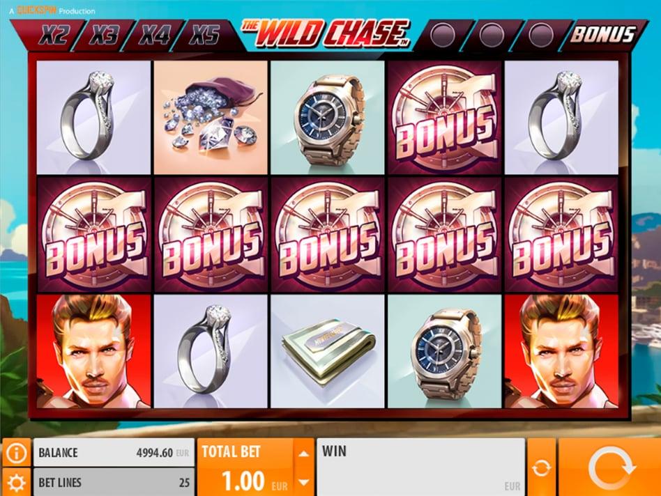 Игровой автомат wild chase играйте онлайн